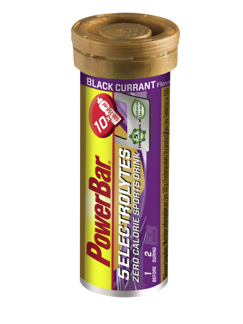 PowerBar 5 Electrolytes Tube Black Currant 10 Tabs